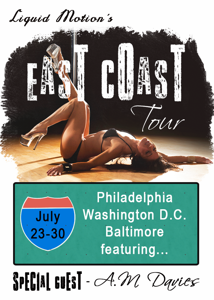 East Coast Tour Coming In July With A.M. Davies!