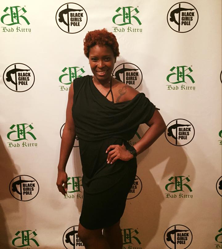 LM Instructor, Shay Jones Participates In Black Girls Pole!