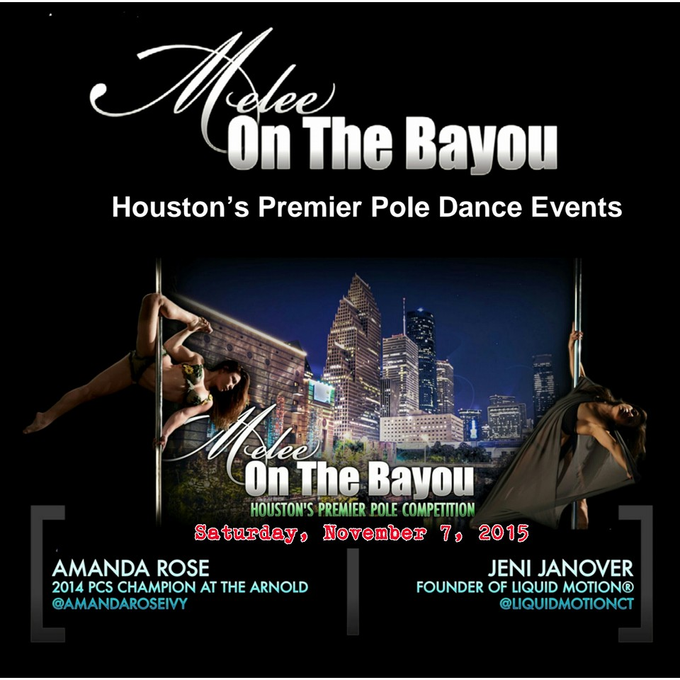 Melee On The Bayou: Houston's Premier Pole Dance Event!